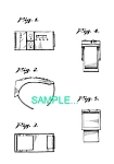 Click here to enlarge image and see more about item PAT0411BB7: US Patent: STAR TREK Wrist COMMUNICATOR
