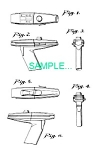 Click here to enlarge image and see more about item PAT0411BB8: US Patent: STAR TREK Hand Phaser