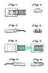 Click here to enlarge image and see more about item PAT0411BB9: US Patent: STAR TREK COMMUNICATOR