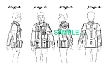 Click here to enlarge image and see more about item PAT0411CC4: US Patent: STAR TREK Wrath COSTUME/Uniform