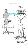 Patent Art: 1950s GINNY VOGUE DOLL Heart Stand