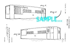 Click here to enlarge image and see more about item PAT0619A1: Patent Art: 1950s MOBILE DINER DESIGN - Matted Print