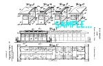 Patent Art: 1930s DINER CAR DESIGN - Matted Print