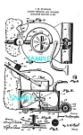 Click here to enlarge image and see more about item PAT0727A3-2006: Patent Art: 1900s CARPET SWEEPER - matted