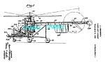 Click here to enlarge image and see more about item PAT0727A4-2006: Patent Art: 1940s SIKORSKY HELICOPTER - matted