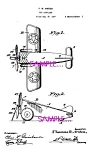 Click here to enlarge image and see more about item PAT0728A5-2006: Patent Art: 1920s AMERICAN FLYER Toy Airplane