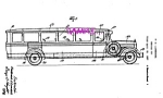 Patent Art: 1930s Lundahl - BUDDY L  TOY TRAVEL BUS