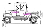 Patent Art: 1930s Lundahl - BUDDY L TOY PICKUP TRUCK