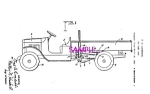 Click here to enlarge image and see more about item PAT0801A4-2006: Patent Art: 1930s Lundahl - BUDDY L  TOY DUMP TRUCK