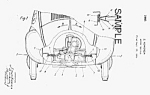 Click here to enlarge image and see more about item PAT0805AA2: Patent Art: 1940 VW-VOLKSWAGEN BUG - Matted