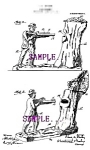 Click here to enlarge image and see more about item PAT0807A2-2006: Patent Art: 1907 TEDDY ROOSEVELT-BEAR Mechanical BANK