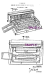 Click here to enlarge image and see more about item PAT0808A2-2006: Patent Art: 1951 Lionel TOY TRAIN CATTLE PLATFORM