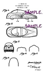 Patent Art: 1940s BUBBLE TOP TOY CAR -matted