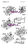 Patent Art: 1970s THINGMAKER TOY MOLDS - matted