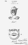 Patent Art: 1932 Art Deco PONTIAC Mascot - matted