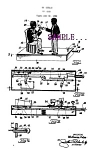 Click here to enlarge image and see more about item PAT080A1-2006: Patent Art: 1920s BLACK BANJO PLAYERS Mechanical BANK