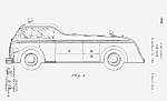 Click here to enlarge image and see more about item PAT0811AA2: 1930s FIRETRUCK FIRE TRUCK Patent-Matted