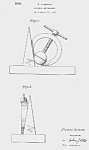 Click here to enlarge image and see more about item PAT0811AA8E: 1939 NY WORLDS FAIR NUTCRACKER Patent-Matted