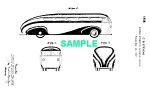 Click here to enlarge image and see more about item PAT0811BB2: Patent Art: 1930s Brooks Stevens STREAMLINE BUS