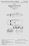 Click here to enlarge image and see more about item PAT0816BB2: Patent Art: 3-WHEELED GM Commuter CAR - Matted