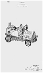 Click here to enlarge image and see more about item PAT0817AA2: 1930s AMOS 'N' ANDY Fresh Air Taxi Toy PATENT