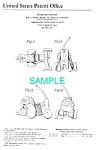 Click here to enlarge image and see more about item PAT0818AA1E: Patent Art: 1950s NOSEY PUP #445 FISHER PRICE Toy