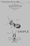 Click here to enlarge image and see more about item PAT0818AA6E: Patent Art: QUEEN BUZZY BEE #314 FISHER PRICE Toy