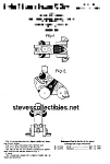 Click here to enlarge image and see more about item PAT0818AA7: Patent Art: 1950s GRAN'PA FROG #464 FISHER PRICE Toy