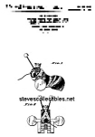 Click here to enlarge image and see more about item PAT0818AA9: Patent Art: BUZZY BEE #325 FISHER PRICE Toy-matted