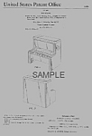 Click here to enlarge image and see more about item PAT0818EE3E: Patent Art: 1970 CHANGE-A-TUNE PIANOFisher Price Toy
