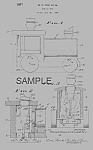Click here to enlarge image and see more about item PAT0818EE5: Patent Art: CHUGGY POP-UP #616 FISHER PRICE Toy
