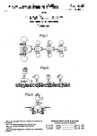 Patent Art: GABBY GOOFIES #775 FISHER PRICE Toy-matted