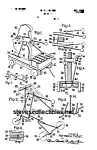 Patent Art: 1930s BEAR XYLO-FISHER PRICE Toy-matted