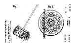 Patent Art: MUSICAL PUSHCHIME #722FISHER PRICE-matted