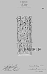 Click here to enlarge image and see more about item PAT0819AA3E: Patent Art: 1900s PAIRPOINT GLASS Vase A - Matted
