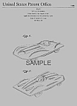 Click here to enlarge image and see more about item PAT0820CC8: Patent Art: 1950s MATTEL Jaguar Toy Vehicle - Matted