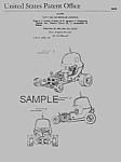 Click here to enlarge image and see more about item PAT0820CDD2: Patent Art: 1960s RED BARON SHOW ROD Model Toy - Matted
