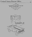 1960s Murray PEDAL CAR Patent-Matted