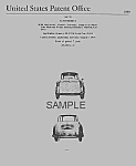 Patent Art: Cool 1959 BMW 600 MICROCAR - matted