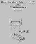Click here to enlarge image and see more about item PAT0820DD7: 1960s Murray FIRE ENG. PEDAL CAR Patent\