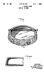 Patent Art: 1940 Metlox PROUTY FLOWER BOWL - matted