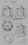 Click here to enlarge image and see more about item PAT0822BB5E: Patent Art: 1950s SHAWNEE LITTLE CHEF Cookie Jar