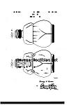 Patent  Art: 1940s SHAWNEE JACK COOKIE JAR - Matted