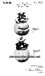 Click here to enlarge image and see more about item PAT0822CC4: Patent Art: 1940s RED WING DUTCH GIRL Cookie Jar