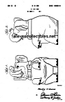 Click here to enlarge image and see more about item PAT0822DD2: Patent Art: 1940s SHAWNEE JUMBO COOKIE JAR - Matted