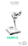 1930s Art Deco FRANKART NUDE Ashtray-Patent