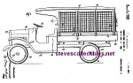 Click here to enlarge image and see more about item PAT0826A1-2007: Patent Art: 1930s Lundahl - BUDDY L TOY CAGE TRUCK