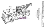 Click here to enlarge image and see more about item PAT0826A2-2006: Patent Art: 1960s MARX TOY Tow Truck