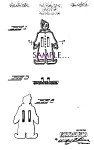 Click here to enlarge image and see more about item PAT0827A6-2006-1156693530: Patent Art: 1940s Realistic CIRCUS CLOWN COOKIE CUTTER