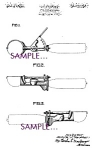 Patent Art: 1930s Scovill ICE CREAM SCOOP